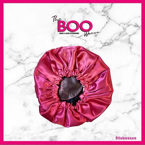 Double  Side Bonnet Pink & Black