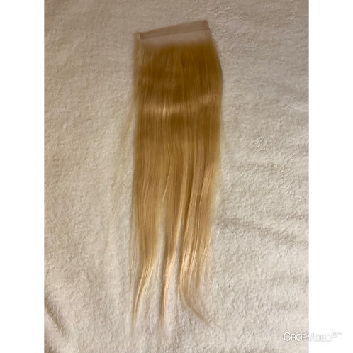 Straight Blonde - Lace Closure 4x4