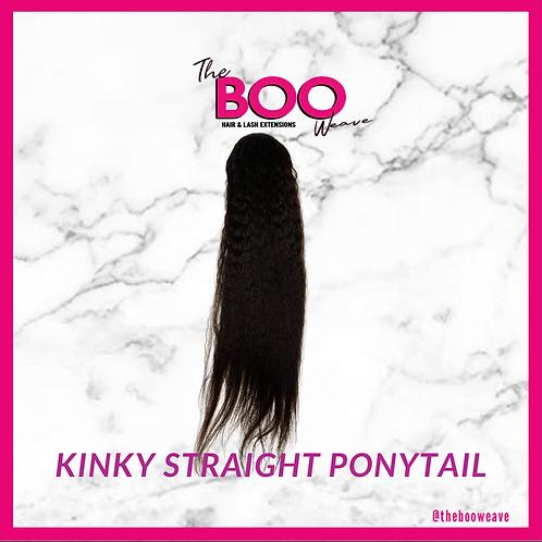 Kinky Straight Ponytail
