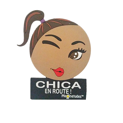 CHICA EN ROUTE