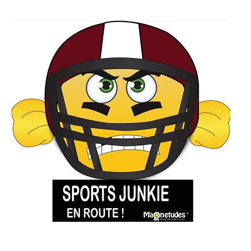 SPORTS JUNKIE EN ROUTE!