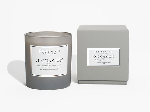 O. CASSION Candle