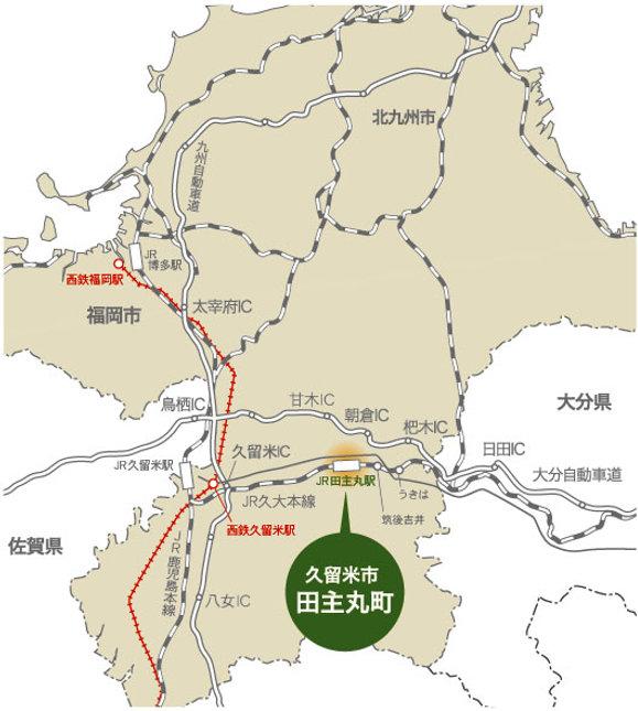 地図_福岡県