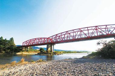 筑後川と片の瀬橋