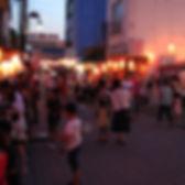 中央商店街 夏の夜市