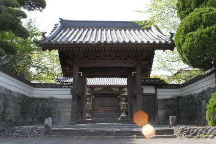 大楠の梢揺れる 恵利八幡神社