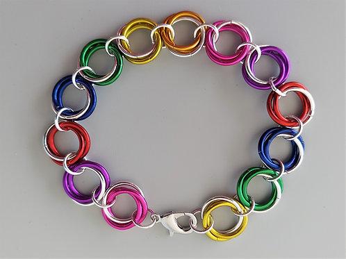 Colorful Rosette bracelet