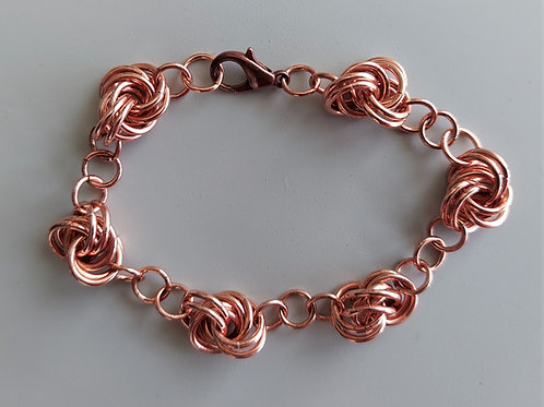 Copper Knot bracelet
