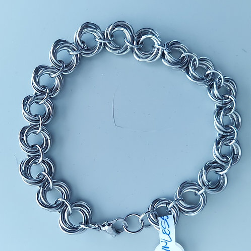 Stainless steel Rosette bracelet