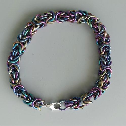 Byzantine Niobium bracelet