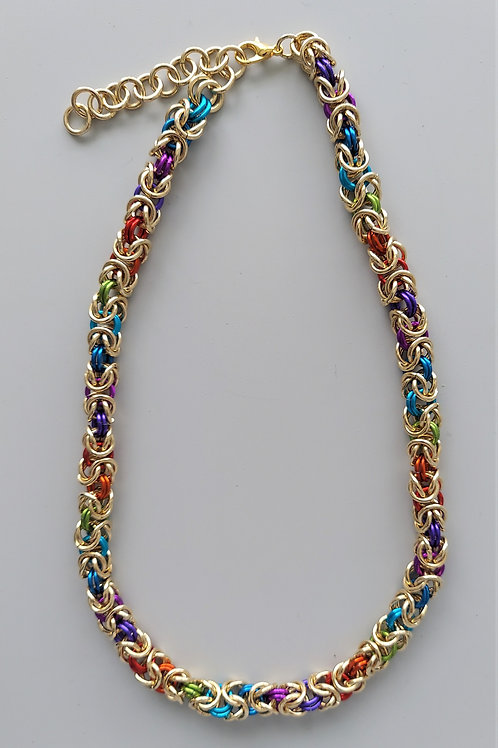 NuGold Byzantine necklace
