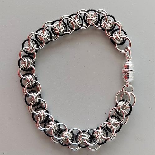 Sterling Silver Helm bracelet