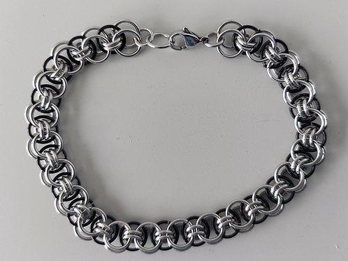 Mens Helm bracelet in Stainless Steel