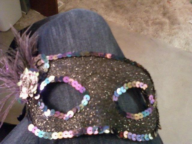 Purple Sparkle Mask