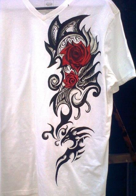 Custom Painted Shirt