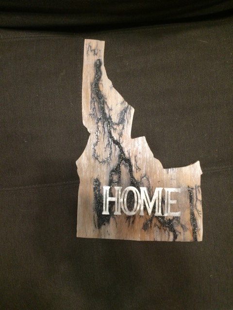 Burned Idaho