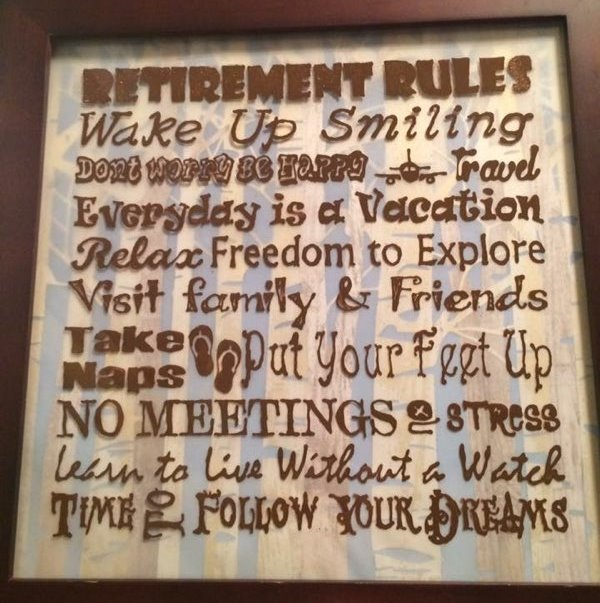 Rules for Retirement