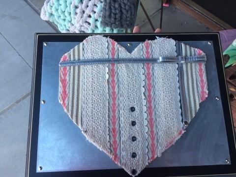 Pink Belt Heart