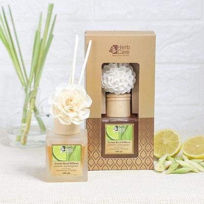 Aroma Reed Diffuser : Lemon and Lemongrass