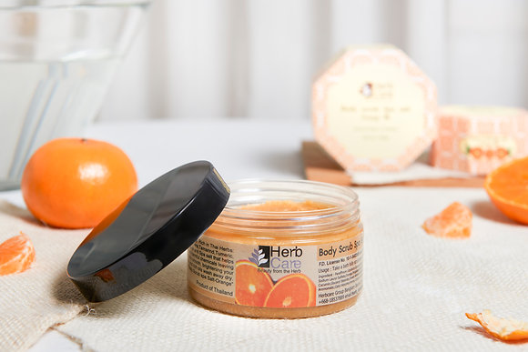 Body Scrub Spa salt Thai Orange
