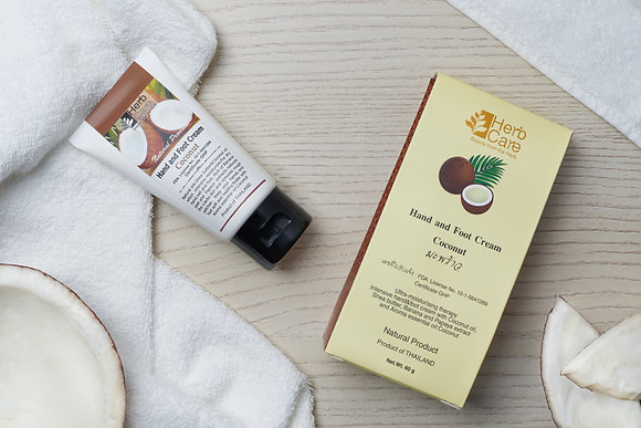Hand and Foot Cream : Coconut