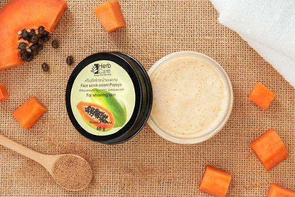 Face Scrub Cream : Papaya