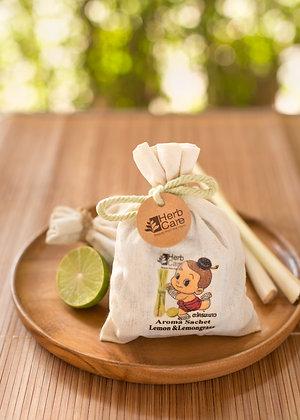 Aroma Sachet : Lemon and Lemongrass