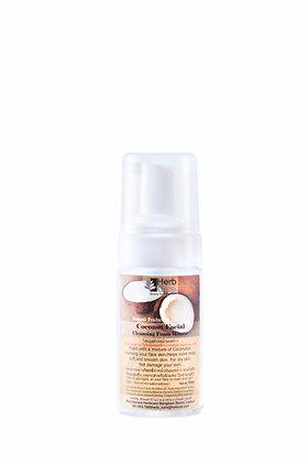 Coconut  Facial Cleansing Foam Mousse