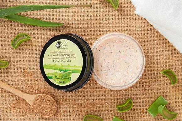 Face Scrub Cream : Aloe Vera