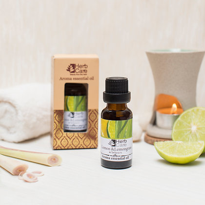 Aroma Essential Oil : Lemon and Lemongrass