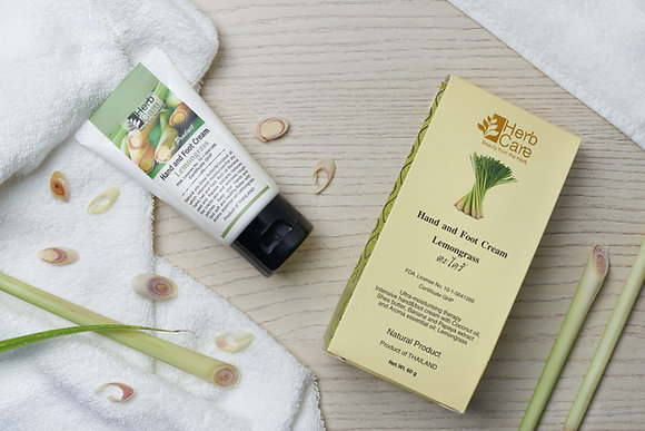 Hand and Foot Cream : Lemongrass