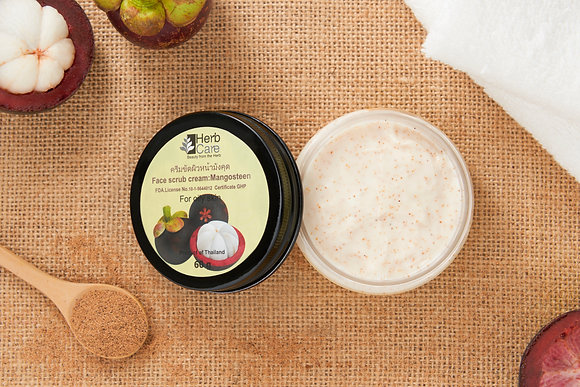 Face Scrub Cream : Mangosteen