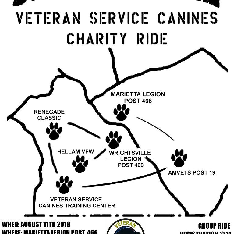 3rd Annual Veteran Service Canine Ride