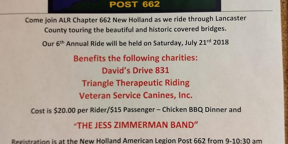 ALR 662 Covered Bridge Ride