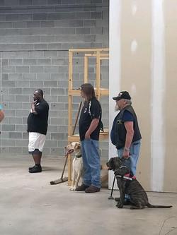 Training at the Training Center