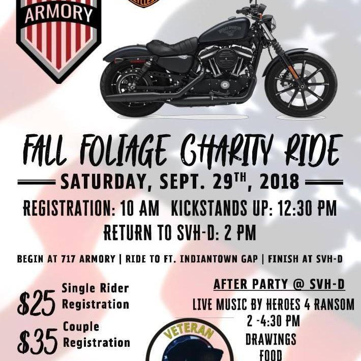 717 Armory & SVH-D Fall Foliage Charity Ride