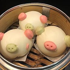 Steam BBQ Chicken Buns