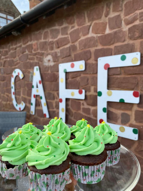 Mint Aero Cupcakes
