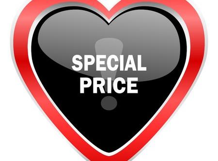 Special Price für den ersten Besuch