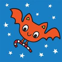 Halloween Candy Bat