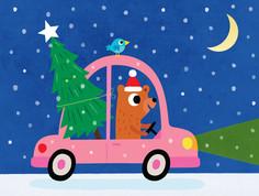 Little bears Christmas tree