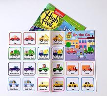 Sticker sheet for High Five Magazine