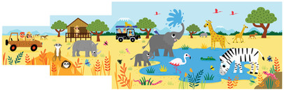 Hike in the Wild - Safari
