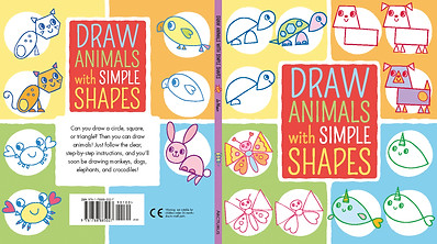 Draw Animals With Simple Shapes cover
