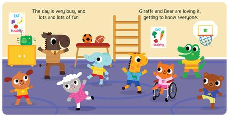 Giraffe and Friends Start School