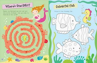My First Mermaid Sticker Activity Book
