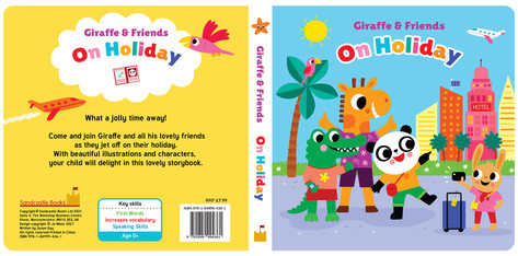 Giraffe and Friends On Holiday