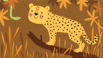 Cheetah and Snake