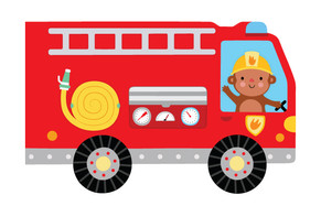 Whizzy Books Fire Engine