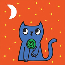 Haloween Candy Cat
